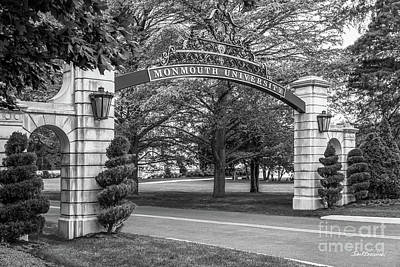 Photograph - Monmouth University Gate by University Icons