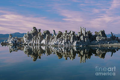 Photograph - Mono Lake Sunset by Sandra Bronstein