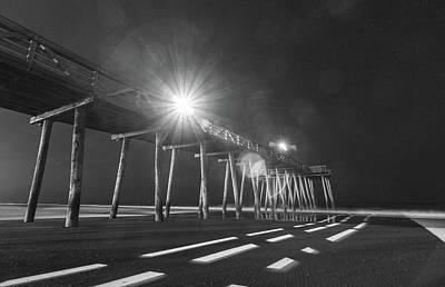 Photograph - Mono Pier by Kristopher Schoenleber