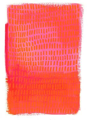 Monochrome Orange Pink Original