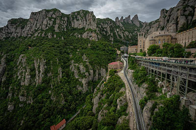Photograph - Monserrat by Bill Martin