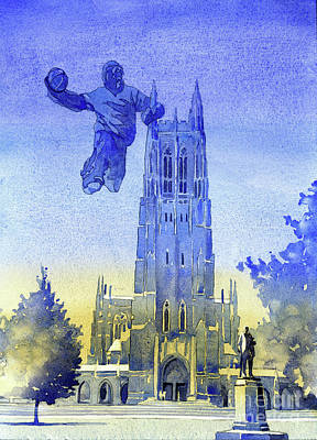 Painting - Monster Dunk- Durham Chapel by Ryan Fox