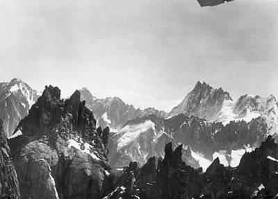 Mont Blanc Peaks Art Print by Three Lions