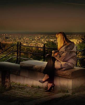 Photograph - Mont-royal Sunset by Juan Contreras