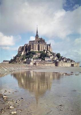 Photograph - Mont Saint-michel by French School