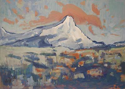 Painting - Montagne Sainte Victoire by Nop Briex