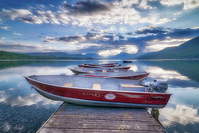 Photograph - Montana Boats by Spencer McDonald