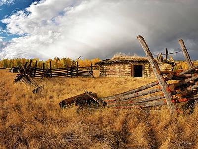 Photograph - Montana History by Leland D Howard