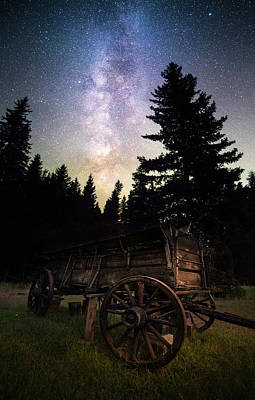 Photograph - Montana Relic / Seeley Lake, Montana  by Nicholas Parker