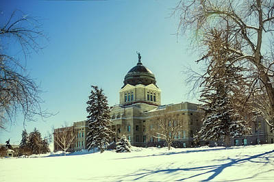 Photograph - Montana State Capitol Building In Helena, Montana 2 by Tatiana Travelways