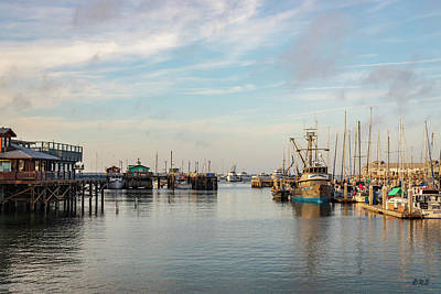 Photograph - Monterey Harbor Color by David Gordon