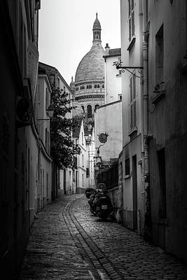 Photograph - Montmartre Backstreets by Georgia Fowler