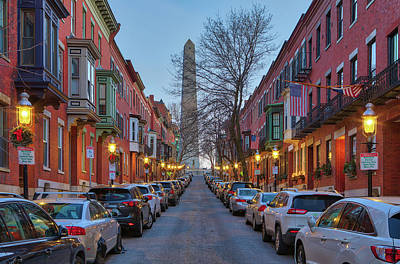 Photograph - Monument Avenue by Juergen Roth