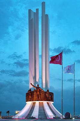 Photograph - Monument Of Ataturk His Mother And Women S Rights by Fabrizio Troiani