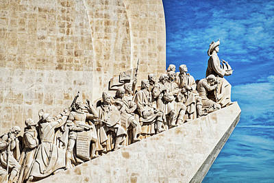 Photograph - Monument To The Discoveries - Lisbon - Portugal by Stuart Litoff