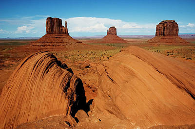 Photograph - Monument Valley, Ansel Adams by Frederic Labaune