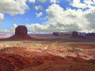 Photograph - Monument Valley by Anthony Dezenzio