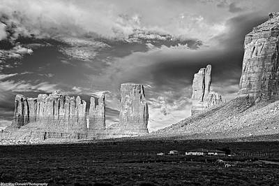 Photograph - Monument Valley Fingers by Matt Macdonald