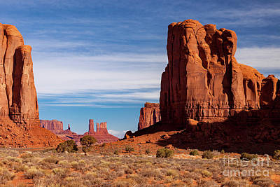 Photograph - Monument Valley View by Brian Jannsen