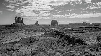 Photograph - Monument Valley View by Michael Monahan