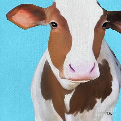 Painting - Moo Moo by Tammy Lee Bradley