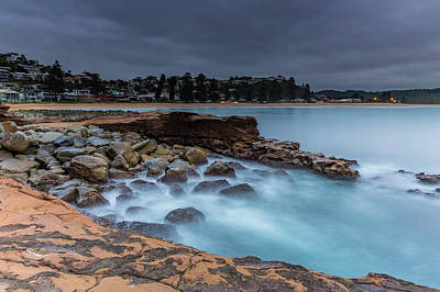 Photograph - Moody Blues Sunrise Seascape by Merrillie Redden