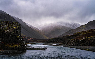 Photograph - Moody Canyon by Framing Places