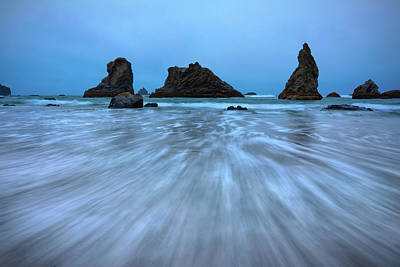 Beach Royalty-Free and Rights-Managed Images - Moody Sea by Brian Knott Photography