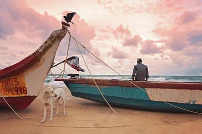 Photograph - Moody Skies by Marji Lang