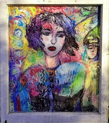 Glass Art - Moogi Back by Mykul Anjelo