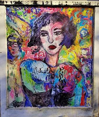 Painting - Moogi by Mykul Anjelo