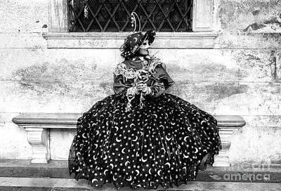 Photograph - Moon At Carnevale Di Venezia by John Rizzuto