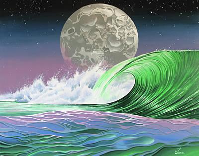 Painting - Moon Breaker by William Love