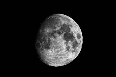Photograph - Moon by Grant Glendinning