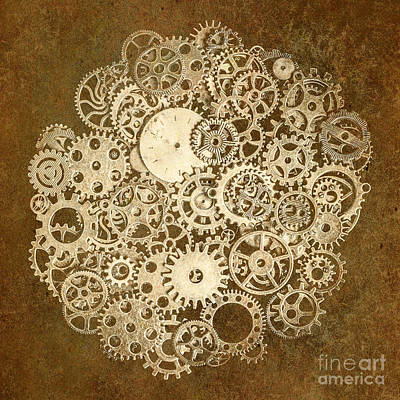 Tools Photograph - Moon Mechanics by Jorgo Photography - Wall Art Gallery