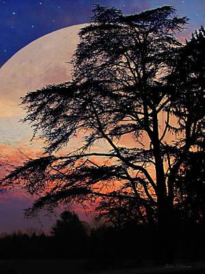 Photograph - Moon Shadow by John Rivera