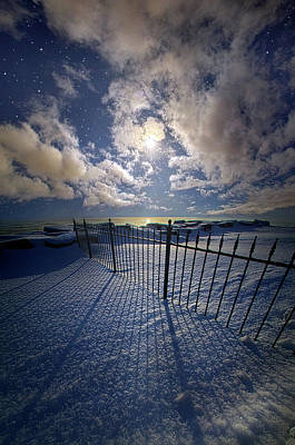 Art Print featuring the photograph Moon Shine by Phil Koch