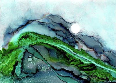 Painting - Moondance I by Kathryn Riley Parker