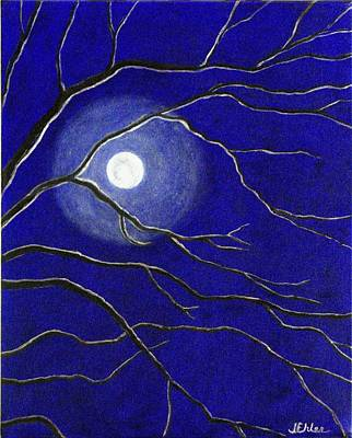 Painting - Moonglow by Jean Ehler
