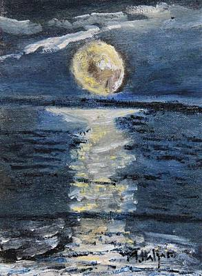 Painting - Moonglow by Michael Helfen