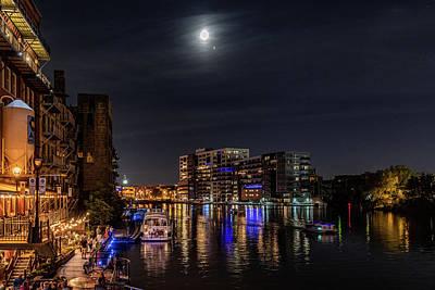 Photograph - Moonlight Cruise by Randy Scherkenbach