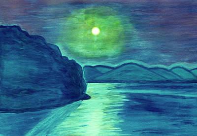 Painting - Moonlight Night by Irina Dobrotsvet