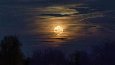 Photograph - Moonrise by Allin Sorenson