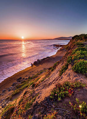 Photograph - Moonstone Beach, Cambria by Alexis Birkill