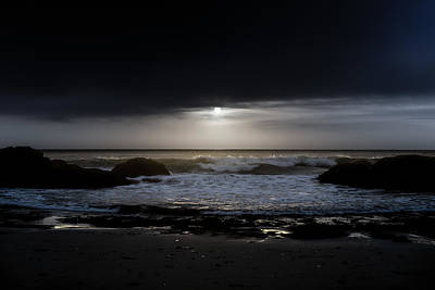 Photograph - Moontide by Davin McLaird