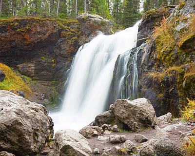 Photograph - Moose Falls by Gerry Sibell