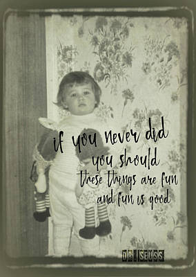 Moppets Quote Art Print by JAMART Photography