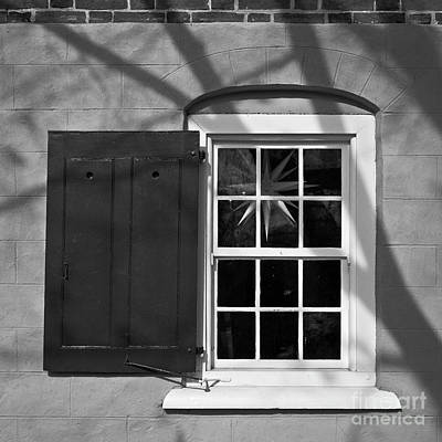 Art Print featuring the photograph Moravian Window by Patrick M Lynch
