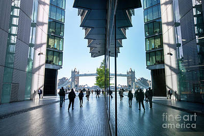 Photograph - More London Riverside by Tim Gainey