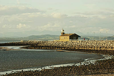 Photograph - Morecambe. The Stone Jetty. by Lachlan Main